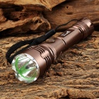 UltraFire XL-011 100lm 3-Mode White Flashlight w/ Cree XP-E Q5 - Brown (1 x 14500 / AA)