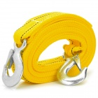 4-50 Tough Nylon Tow Rope for Car - Yellow (3.8m)