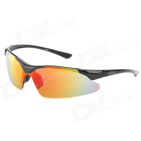FJQXZ F-045 Outdoor Sports Bicycle PC Lens Sunglasses