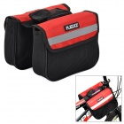 FJQXZ Nylon Bicycle / Bike Top Tube Double bag