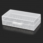 PP Battery Box for 18650 / 17670 / 16340 / 17335 - Transparent