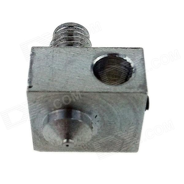 RepRap Prusa Mendel DIY 3D Printer Custom Accessories Aluminum 0.3mm Nozzle - Silver j mendel пояс