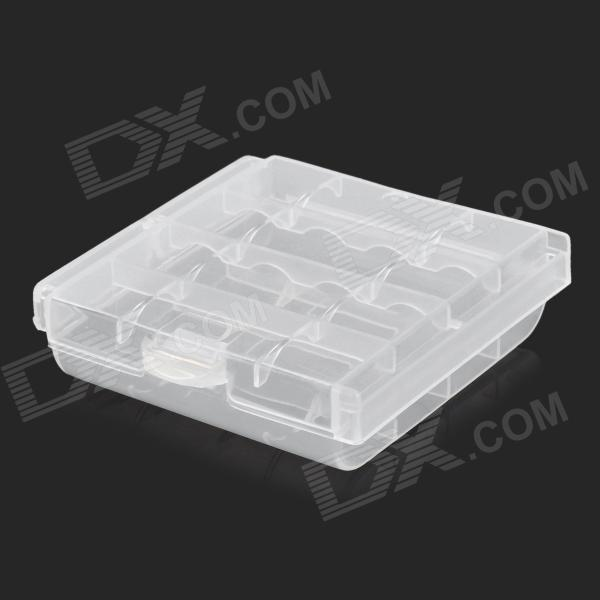 PP Battery Box for 4 x AA / AAA - Transparent other tamehome 2015 1 4 hifi