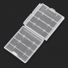 PP Battery Box for 4 x AA / AAA - Transparent