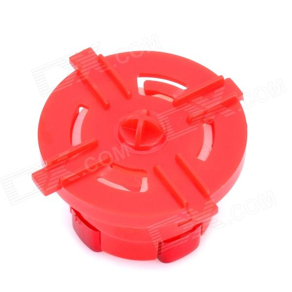 Replacement Rotating Transforming D-Pad Button for Xbox 360 Slim - Red replacement thumbstick joystick caps set for xbox 360 red pair