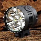Y-002 2500lm 3-Mode White Bike Headlamp w/ Cree XM-L2 T6 - Grey