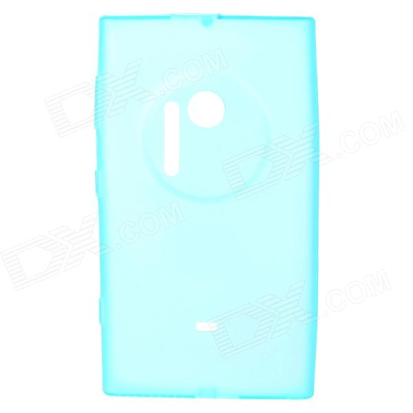 Matte Protective TPU Back Case for Nokia Lumia 1020 - Translucent Blue protective matte frosted screen protector film guard for nokia lumia 900 transparent