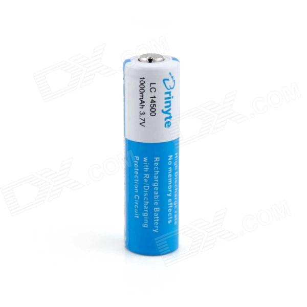 Brinyte PCB Li-ion 14500 1000mAh Mini LED Torch Battery - Blue yes yes relayer cd dvd