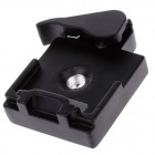 "Durable 1/4"" Aluminum Alloy Quick Release Plate - Black"