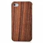Joyroom Protective Wooden Back Case for Iphone 4 / 4S - Wood