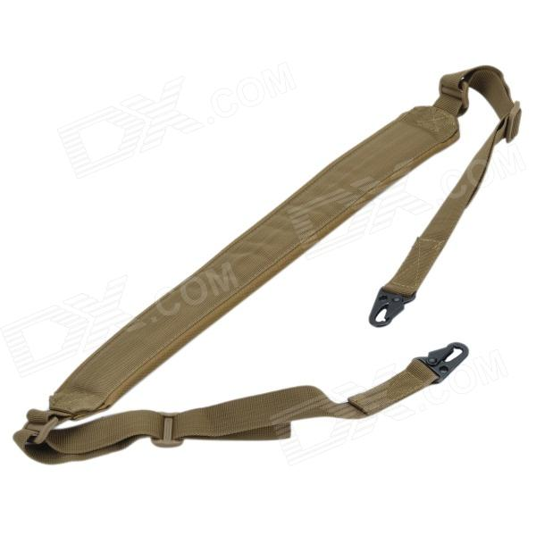 Outdoor Adjustable Tactical Military Gun Sling - Mud Color (140cm)