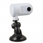 "LTS608 1080P 1.5"" TFT CMOS 3.0MP 120° Wide Angle Car DVR Camcorder w/ HDMI / TF - White"