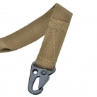 Outdoor Adjustable Tactical Military Gun Sling - Army Green (140cm)
