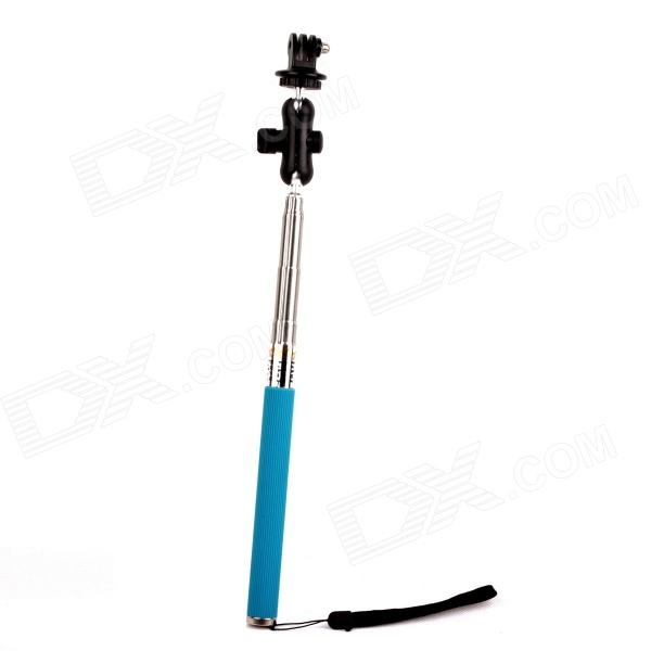 PANNOVO G-62 6 Section Retractable Handheld Pole Monopod for Gopro Hero 4/ 2 / 3 / 3+ / SJ4000 pannovo g 62 6 section retractable handheld pole monopod for gopro hero 4 2 3 3 sj4000 black