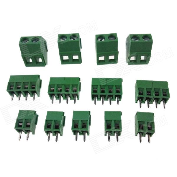 RepRap Prusa Mend DIY 3D Printer Parts Control PCBA Socket - Green (13 PCS)