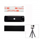"Fat Cat M-DL 3M Dual Lock Velcro Sticker 1/4"" Adapter Fast Mount for Gopro Hero 3+/Hero 3/2/1/SJ4000"