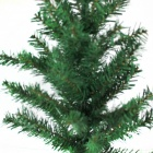 Plastic Christmas Tree Decoration - Green (Size M)
