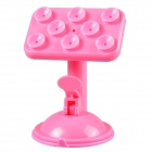 Smart Spider UF 1-020 360 Degree Rotation Suction Cup Holder Stand for Cell Phone - Pink