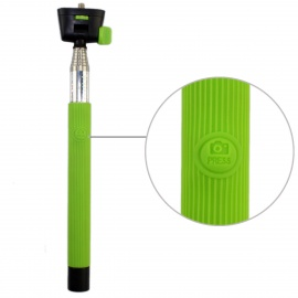 Wireless Bluetooth  Mobile Phone Monopod for Android 3.0 and Above System - Green