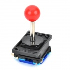 Repair Parts Replacement Red Ball Joystick w/ 4-Switch for Arcade - Black + Red