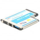 AKE U3-10 Universal Express to USB 3.0 + Bluetooth Extension Card for Laptop - Multicolored