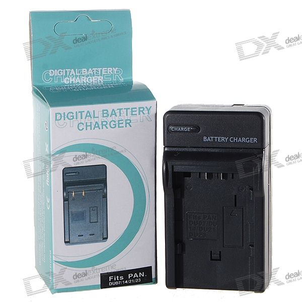 Camera Battery Charger for Panasonic DU07/DU14/DU21/DU23 (100~240V)
