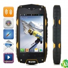"Qualcomm MSM8225 Dual-Core Ultra-Rugged Waterproof Android 4.0 WCDMA Cellphone w/ 4.0"" IPS, 4GB ROM"