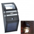 Buy CMI LEH-44014BY 2-LED Yellow Light Solar Sensor PIR Motion Wall Mounted - Black