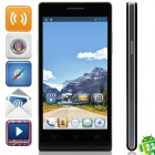 "A6(P6) MTK6572 Dual-Core Android 2.3.6 GSM Bar Phone w/ 4.5"", Quad-Band, FM and Wi-Fi - Black"
