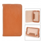 Stylish Flip-open PU + TPU Case w/ Holder for Vido T11 - Brown