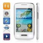 "5380D Android 2.3 GSM Phone w/ 3.5"", Wi-Fi, Camera - White + Silver"