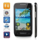 "5380D 3.5"" Android 2.3 2G Cell Phone w/ WiFi / GSM / Camera - Black + Silver"