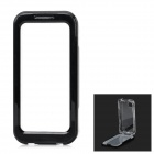 IP-68 Waterproof Protective PVC + ABS Case w/ Strap for Iphone 5C - Black + Transparent