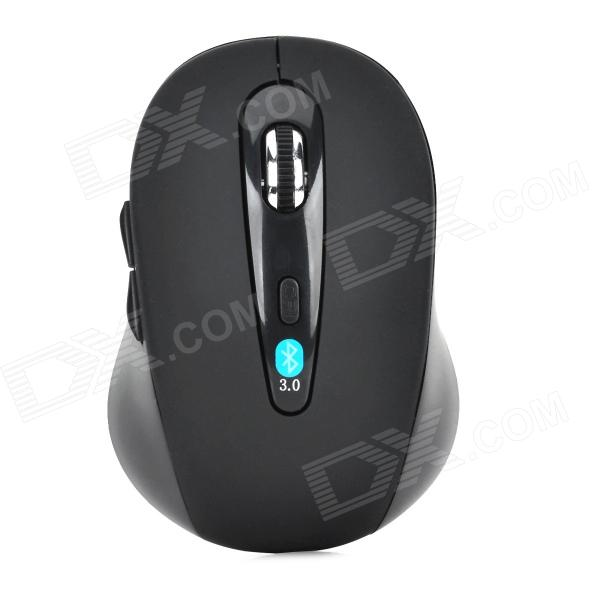 SMT-30 Bluetooth V3.0 1000 / 1200 / 1600dpi Optical Mouse - Black (2 x AAA)
