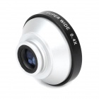 Universal 0.4X Super Wide Angle Lens for Cellphone / Digital Camera - Black + Silver