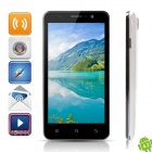 "Newman K1B Quad-Core Android 4.2 WCDMA Bar Phone w/ 5"", 5.0 MP Camera, Wi-Fi, GPS - Black + White"