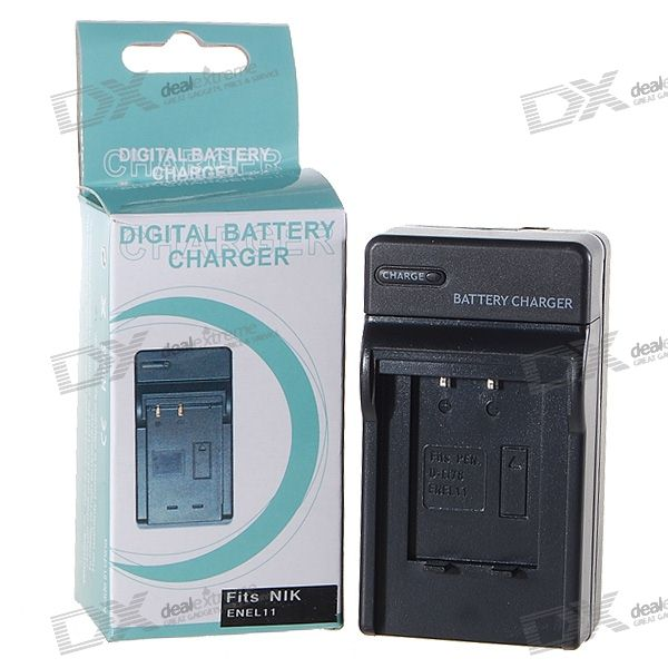 Camera Battery Charger for Nikon ENEL11 (100~240V)