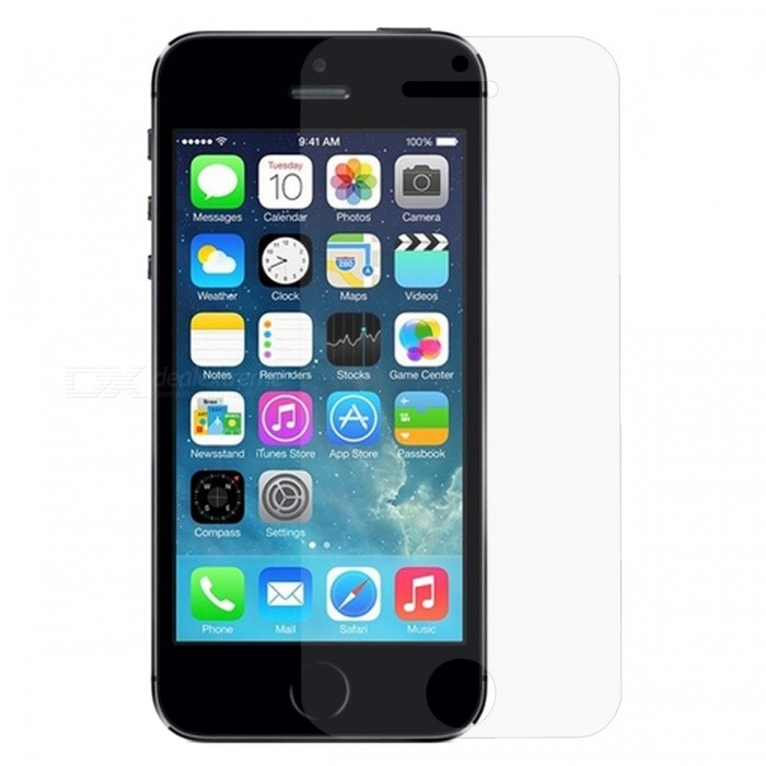 Protective Matte PET Screen Guard Film for Iphone 5S - Translucent (3 PCS)