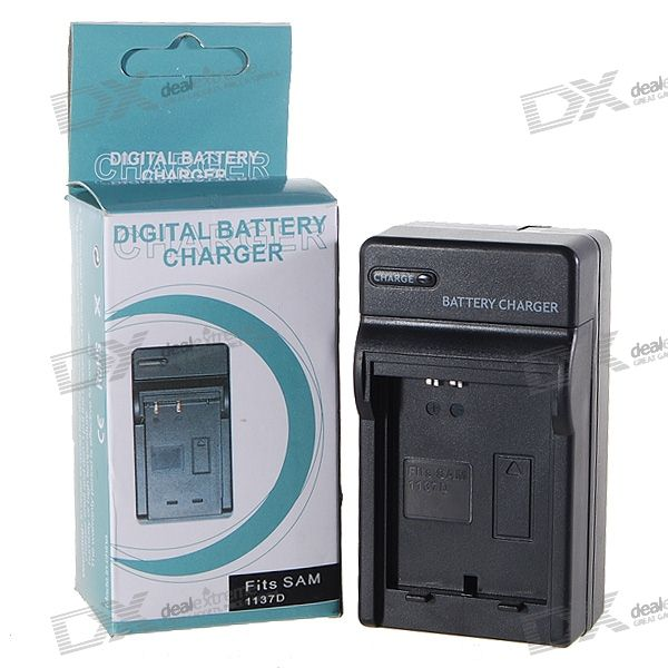 Camera Battery Charger for Samsung 1137D (100~240V)