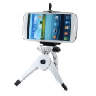 Large Desktop Cellphone Holder + Tripod for Samsung / HTC / Xiaomi + More - Black + Silver