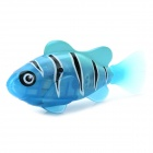 Silverlit Electric Water Activated Magical Fish Toy w/ LED Light - Blue
