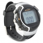 Digital Heart Rate Calories Counter Timer Wrist Watch with Alarm