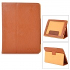 Stylish Protective PU Leather + TPU Case for CUBE U9GT3 - Brown
