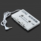 Audio Line-in Cassette Adapter for Car Stereos