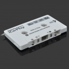 Audio Line-in Cassette Adapter Icarplay for Car Stereos - White