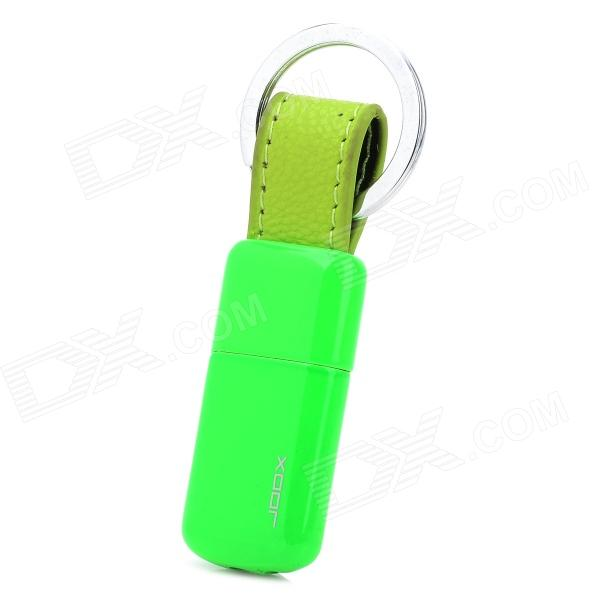 005 Mini Portable Butane Gas Lighter w/ Key Ring - Green