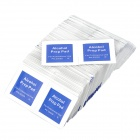 EO 50009 Disinfection Cotton Alcohol Prep Pads Set - White (200 PCS)