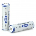 FB Rechargeable 1.2V 2300mAh AA NI-MH Battery - White + Blue (2 PCS)
