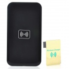 5W 1000mA Micro USB Wireless Charger Set for Samsung Galaxy Note 3 + More - Black + Golden