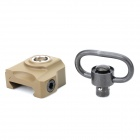 Quick Release QD Sling Swivel Attachment Mount for M4 - Mud